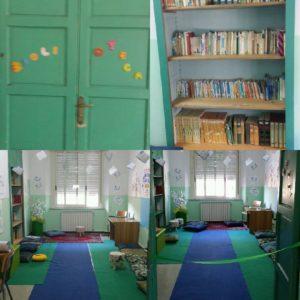 foto aula biblioteca