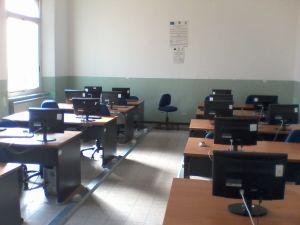 Foto laboratorio informatica