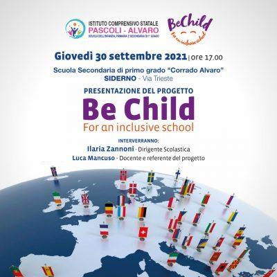 Avvio attività progetto Erasmus Be Child For an inclusive school